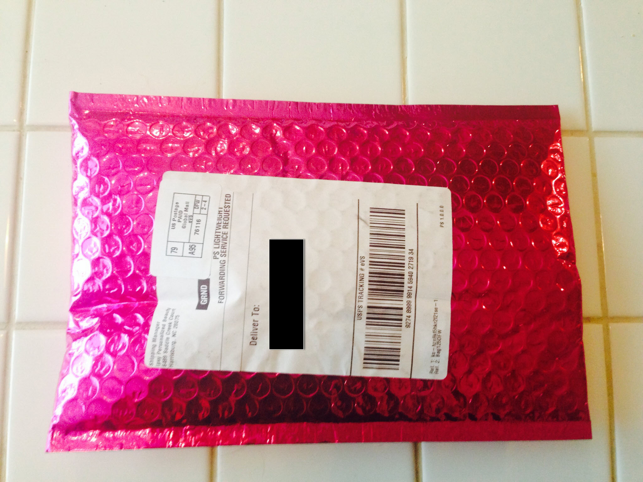 pink package